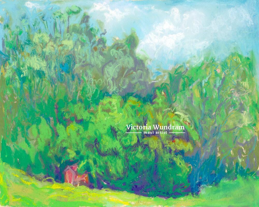 Victoria Wundram | Maui Artist | Haleakala Ranch