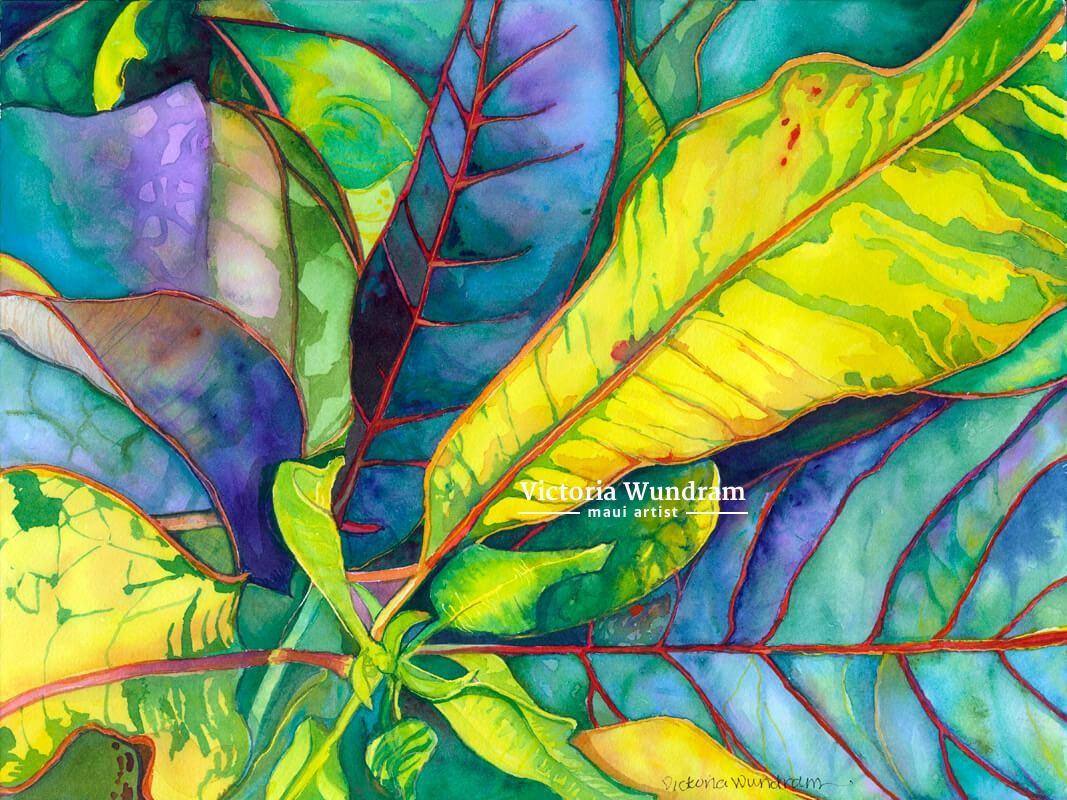 Victoria Wundram | Maui Artist | Kahana Croton