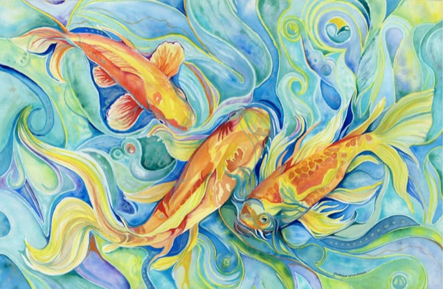 Victoria Wundram | Maui Artist | Mermaid Becoming